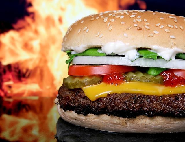 burger se zeleninou