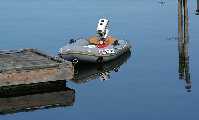 malý člun