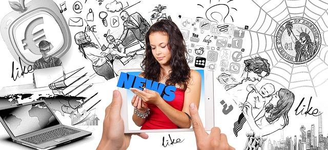 Prohlížení sociálních sítí