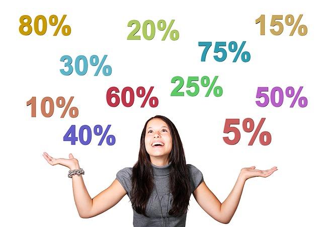 dívka pod procenty