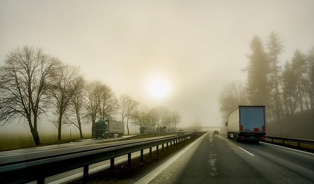 jízda za snížené viditelnosti